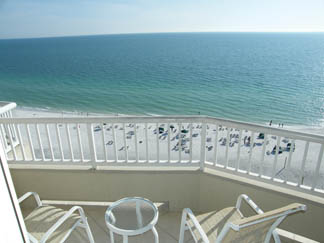 Veranda View at Lido Beach Resort Sarasota