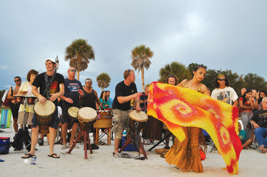 Siesta-Key-Drum-Circle