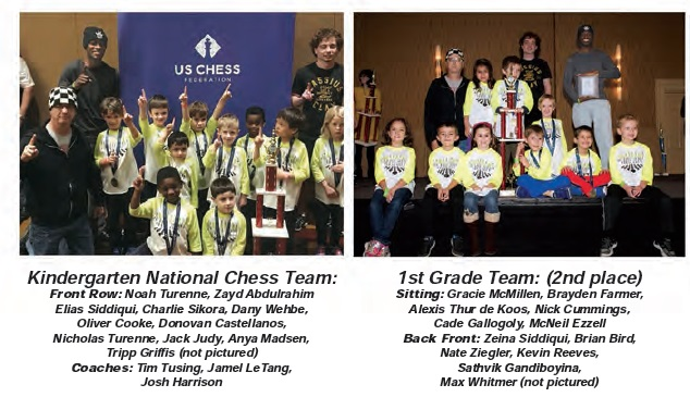 Congratulations to this Young Chess Team