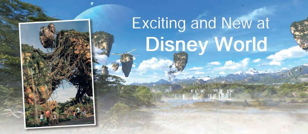 Exciting and New at Disney World