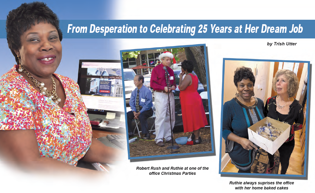 From Desperation to Celebrating 25 Years at Her Dream Job