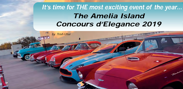 The Amelia Island Concours d'Elegance 2019